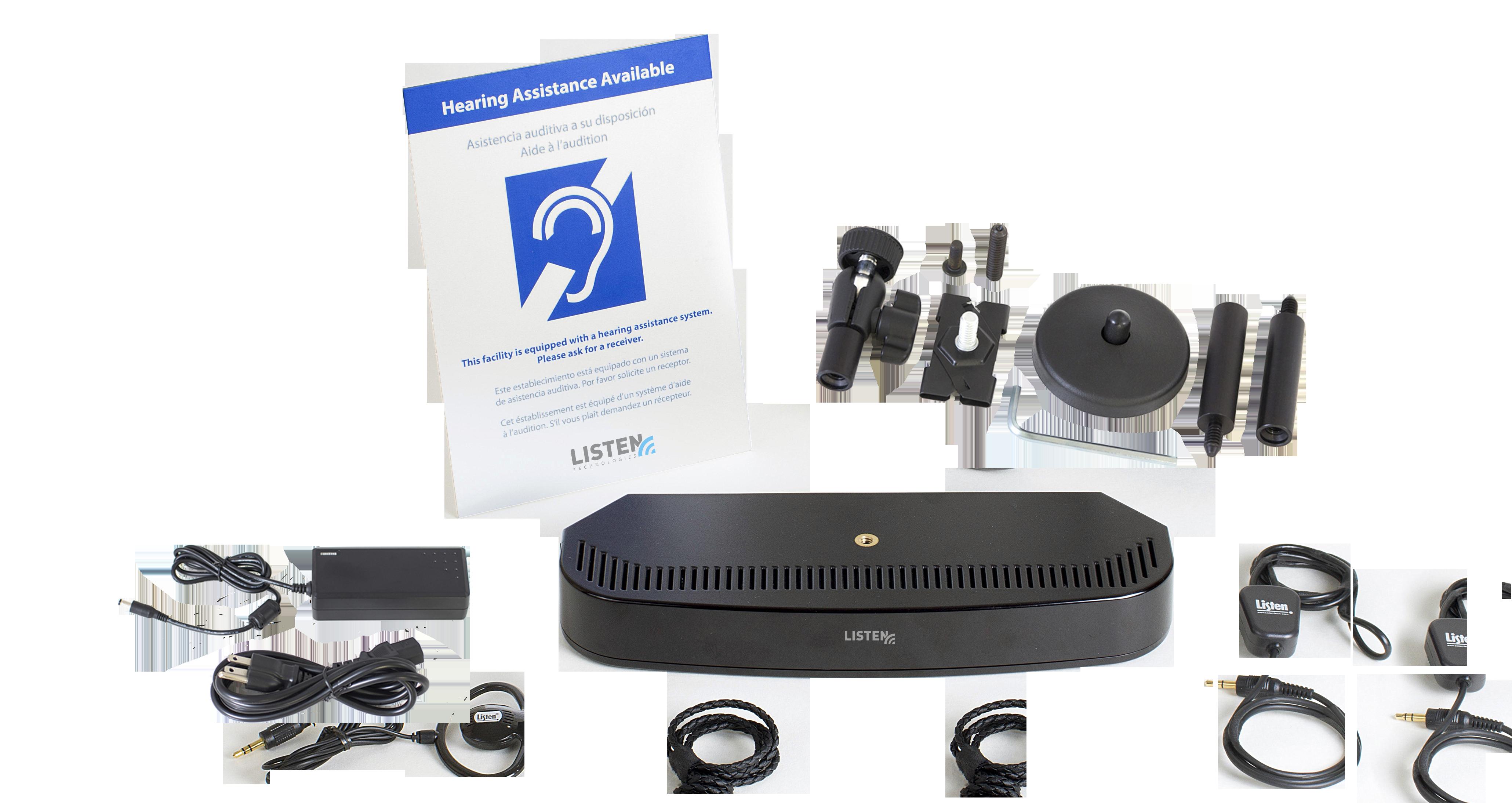 Listenir 2 Channel Transmitter Radiator Combo Listen