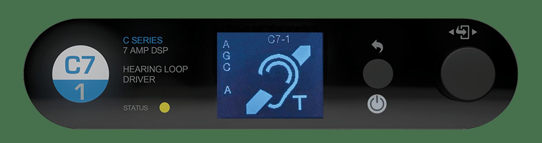 C Series Single Loop Driver 7 Amps Listen Technologies