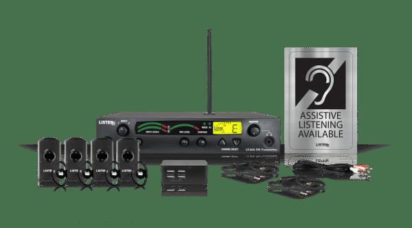 Composite of Listen iDSP Prime Level I Stationary RF System (72 MHz)