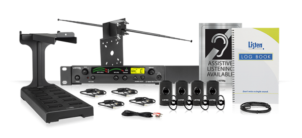 All products included in the Listen iDSP Prime Level IV Stationary RF System (72 MHz)