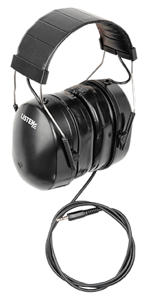 Over-the-ear headsets.