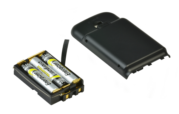 AAA replacement battery case with cover