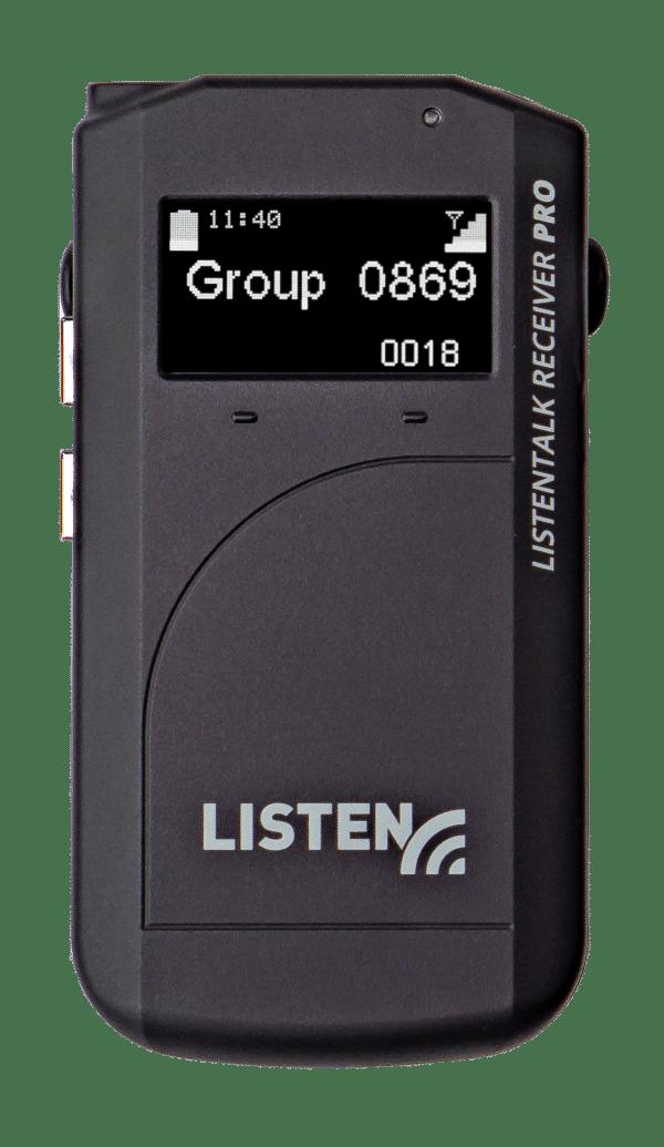 ListenTALK Receiver Pro Front View