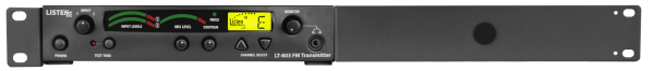 Single LT-800 Configuration front Universal Rack Mounting Kit