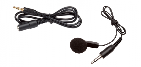 Universal single ear bud with extension cord