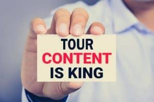 Tour Content is King by AudioConexus