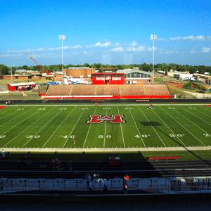 Mustang Public Schools football stadium