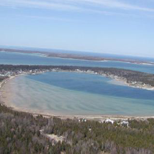Lake that is part of Beaver Island
