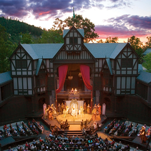 Outdoor state at Shakespeare Festival