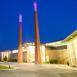 Front view of Davis Conference Center