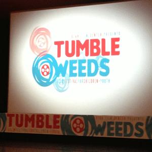 Tumbleweed Film Festival event signage