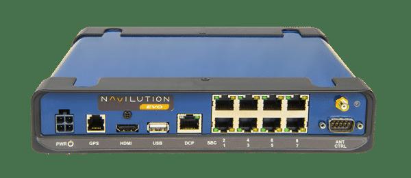 Listen NAVILLUTION Server EVO back view