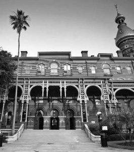 Front view of University of Tampa