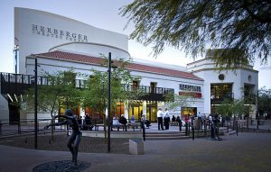 Outside view of Herberger Theater Center building